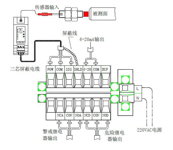 自锁电路教仪接线图